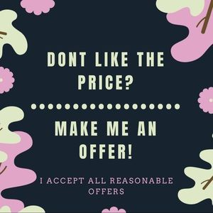 Other - See a price that you don't like? Make an offer!
